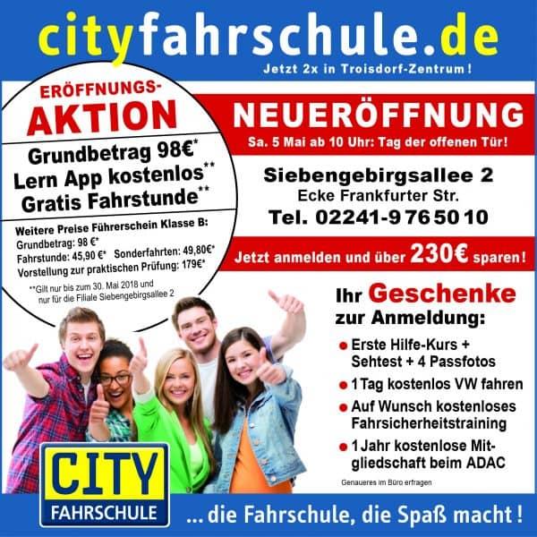 Neueröffnung Filiale Troisdorf - Aktion