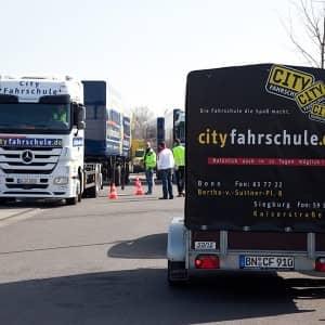 Lastkraft-Fuhrpark der Cityfahrschule