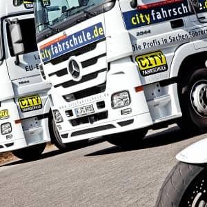 Lastkraftwagen Fuhrpark der Cityfahrschule