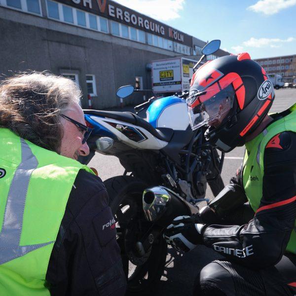 Motorrad Fahrschüler