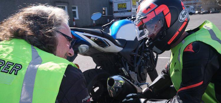 Motorrad Fahrschüler Cityfahrschule