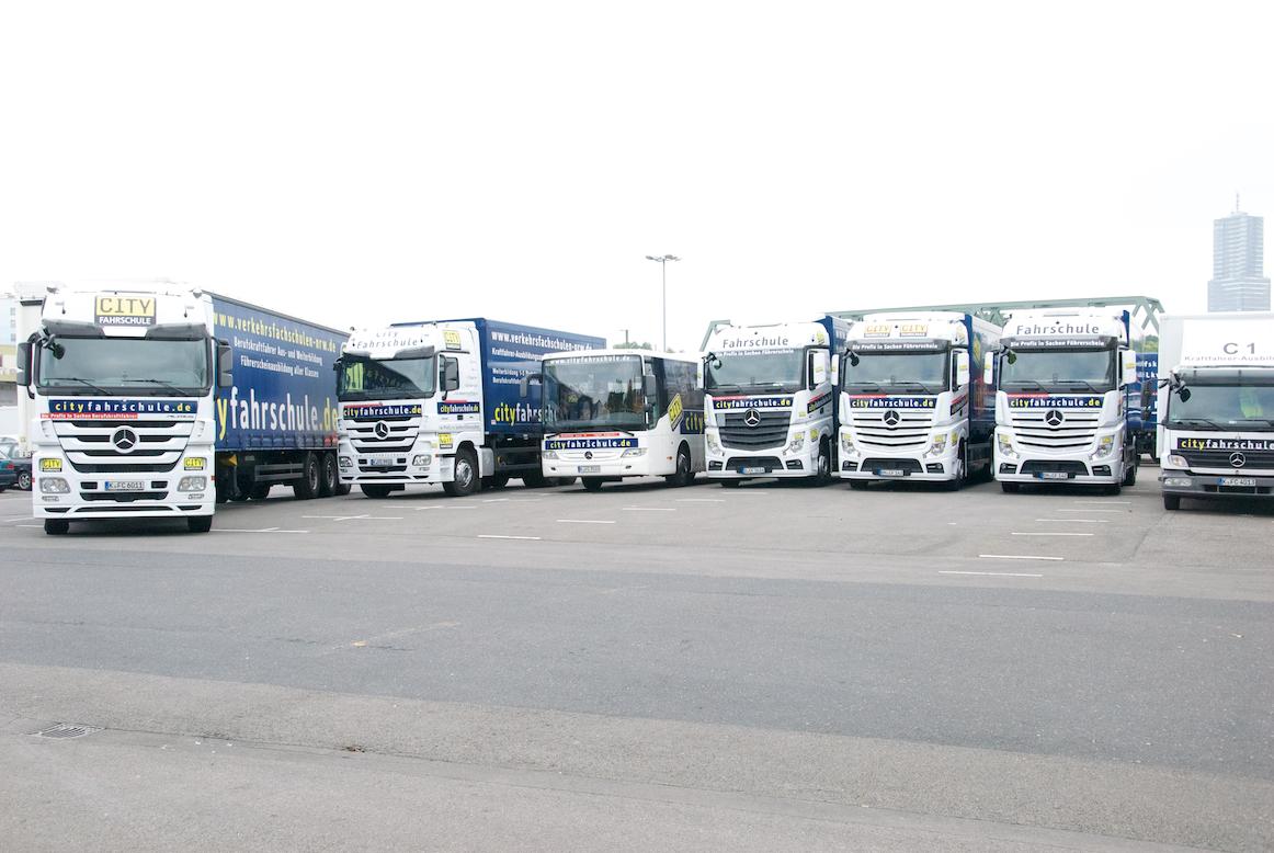 Führerscheinausbildung für LKW und Bus